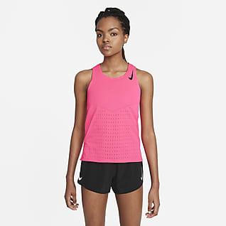 Nike AeroSwift Γυναικεία φανέλα για τρέξιμο