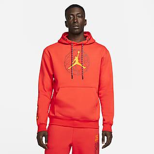 Jordan Essentials Mountainside Hoodie pullover com grafismo para homem