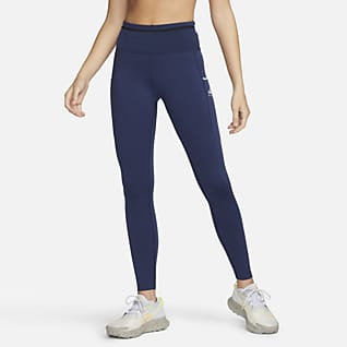 Nike Epic Luxe Trailløbeleggings med mellemhøj talje til kvinder