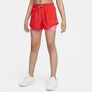 Nike Dri-FIT Tempo Shorts de running para niña talla grande