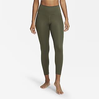 Nike Yoga Женские слегка укороченные тайтсы