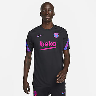 F.C. Barcelona Strike Men's Nike Dri-FIT Short-Sleeve Football Top