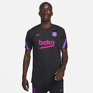 FC Barcelona Strike Playera de fútbol de manga corta para hombre Nike Dri-FIT