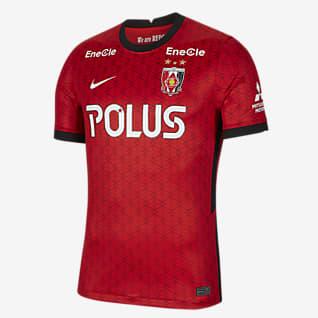 Urawa 2020/21 スタジアム ホーム メンズ サッカーユニフォーム