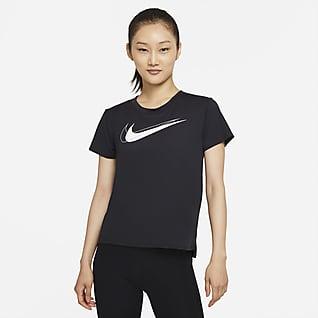 Nike Dri-FIT Swoosh Run 女款跑步上衣