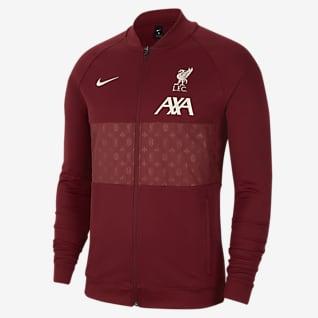 Liverpool FC Chamarra de entrenamiento de fútbol para hombre