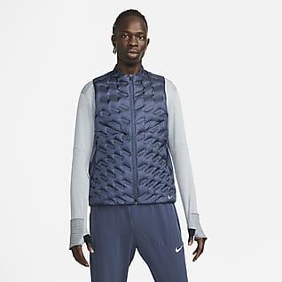 Nike Therma-FIT ADV Repel Veste de running sans manches à garnissage en duvet pour Homme