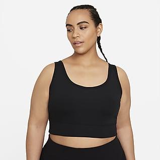 Nike Luxe Camiseta de tirantes de entrenamiento corta para mujer talla grande