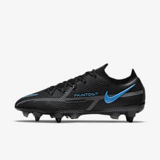 Nike Phantom GT2 Elite SG-Pro AC Chaussure de football à crampons pour terrain gras