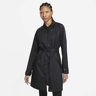 Nike Sportswear Windrunner Geweven trenchjack voor dames