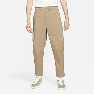 Nike Sportswear Style Essentials Dokuma Astarsız Erkek Kargo Eşofman Altı