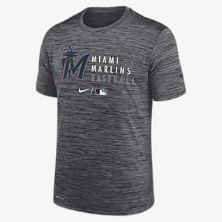 Nike Dri-FIT Velocity Practice (MLB Miami Marlins) Men's T-Shirt
