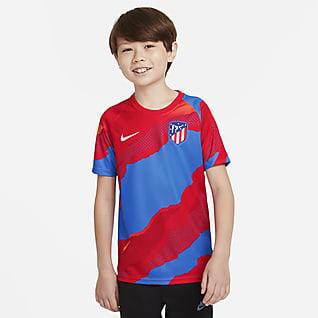 Atlético Madrid Older Kids' Nike Dri-FIT Pre-Match Football Top