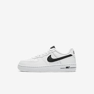 Nike Sportswear Junior Skor Air Force 1 Mid WhiteWhite