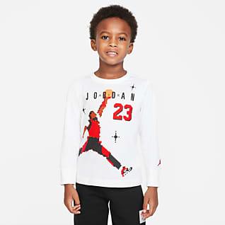 Jordan Camisola de manga comprida para criança