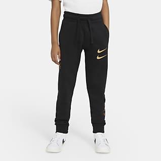 Nike Sportswear Swoosh Pantalones para niño talla grande