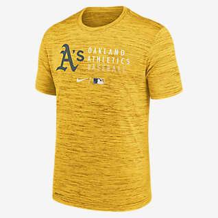 Nike Dri-FIT Velocity Practice (MLB Oakland Athletics) Men's T-Shirt