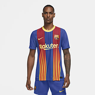 FC Barcelona 2020/21 Vapor Match Fotbollströja för män