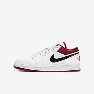 Air Jordan 1 Low Genç Çocuk Ayakkabısı