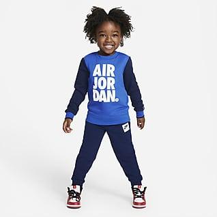Jordan Jumpman Air Conjunto de sudadera de cuello redondo y pantalones infantil