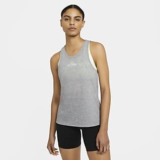Nike City Sleek Trailrunningtanktop voor dames