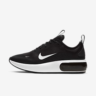 black and white ladies nike shoes
