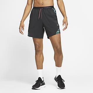 Nike Flex Stride Wild Run Lett fôret løpeshorts til herre