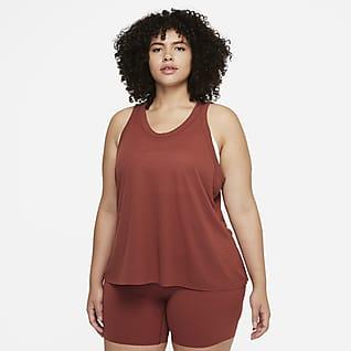 Nike Yoga Luxe Camiseta de tirantes para mujer (talla grande)