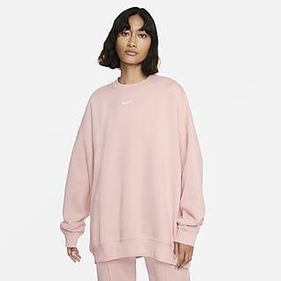 Nike Sportswear Collection Essentials Women's Over-Oversized Fleece Crew