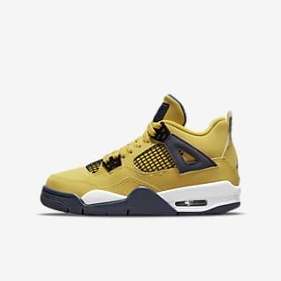 Air Jordan 4 Retro รองเท้าเด็กโต