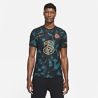 Chelsea FC 2021/22 Maç Üçüncü Nike Dri-FIT ADV Erkek Futbol Forması
