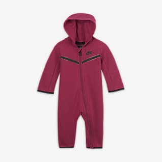 Nike Sportswear Tech Fleece Overall mit durchgehendem Reißverschluss für Babys (0–9 M)