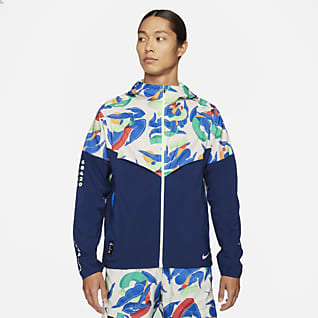 Nike Windrunner A.I.R.Kelly Anna London 男款跑步外套