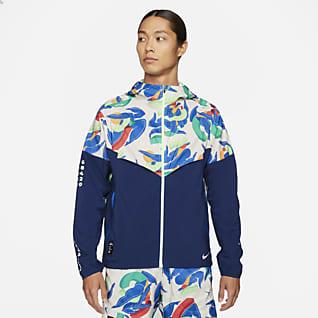 Nike Windrunner A.I.R.Kelly Anna London เสื้อแจ็คเก็ตวิ่งผู้ชาย