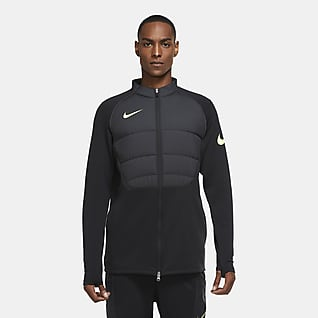 Nike Therma Strike Winter Warrior Erkek Futbol Antrenman Ceketi