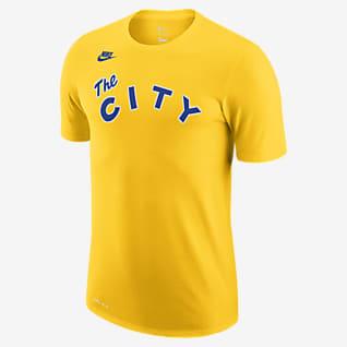 Golden State Warriors Classic Edition Logo Men's Nike Dri-FIT NBA T-Shirt