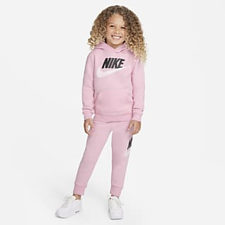 Nike Sportswear Club Fleece Sæt med hættetrøje og bukser til småbørn