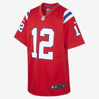 NFL New England Patriots Game (Tom Brady) Older Kids' Game Jersey