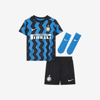 Домашняя форма ФК «Интер Милан» 2020/21 Футбольный комплект для малышей