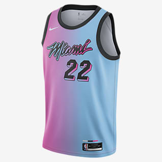 迈阿密热火队 City Edition Nike NBA Swingman Jersey 男子球衣