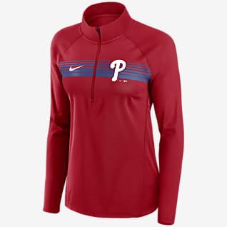 Nike Dri-FIT Element (MLB Philadelphia Phillies) Women's 1/2-Zip Pullover