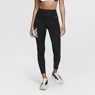 Nike Pro Mallas de 7/8 con estampado - Mujer
