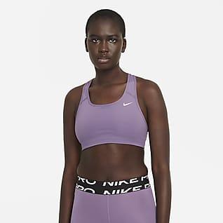Nike Dri-FIT Swoosh Brassière de sport non rembourrée à maintien normal pour Femme