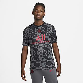 Paris Saint-Germain Haut de football d'avant-match Nike Dri-FIT pour Homme
