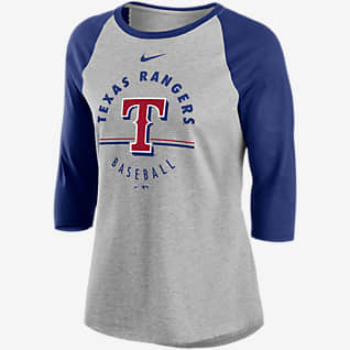 Nike Encircled (MLB Texas Rangers) Women's 3/4-Sleeve T-Shirt