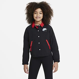 Nike Air Chamarra para niñas talla grande