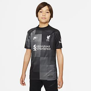 Liverpool FC 2021/22 Stadium Goalkeeper 大童足球球衣