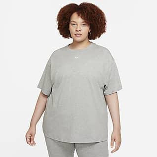 Nike Sportswear Essential Camiseta de manga corta oversized para mujer (talla grande)