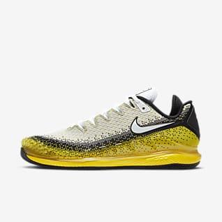 NikeCourt Air Zoom Vapor X Knit Men's Hard Court Tennis Shoe