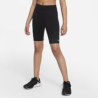 Nike Dri-FIT One Bike Shorts mit Print für ältere Kinder (Mädchen)